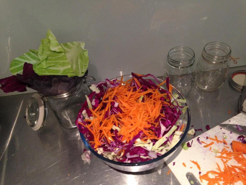 A rainbow of veggie goodness